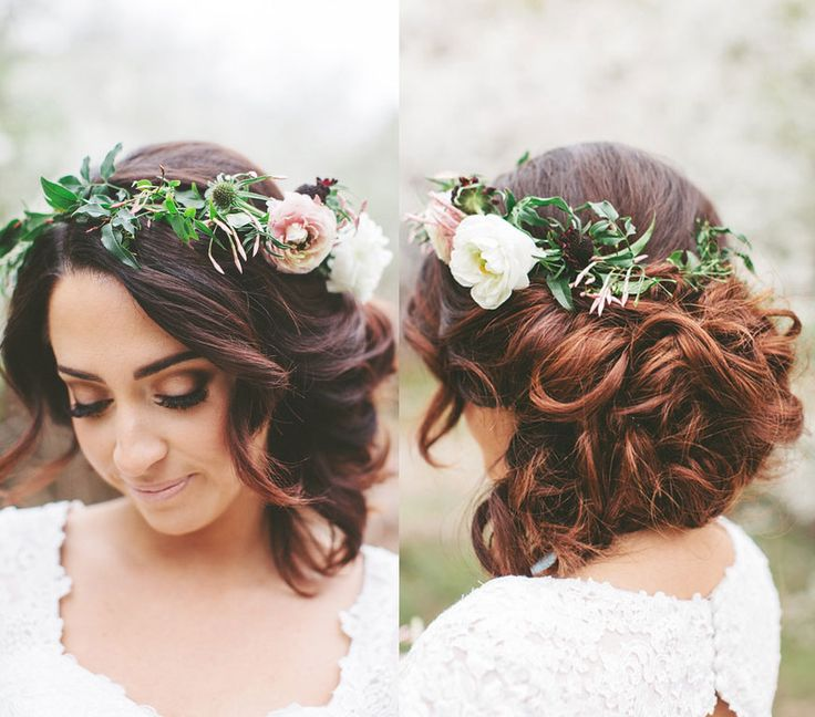 flower hair up styles corona de flores diy events boutique 3331
